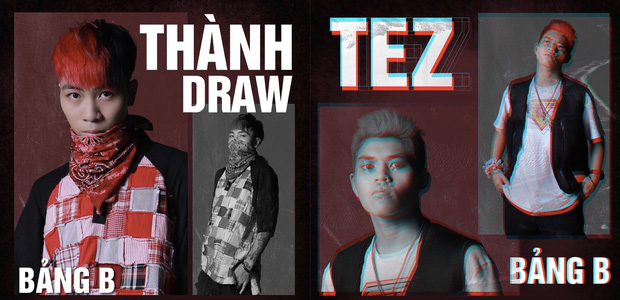 Fan Rap Việt chiến nhau về kết quả bảng B: Người khẳng định Thành Draw xứng đáng, kẻ bênh Tez hay hơn - Ảnh 1.