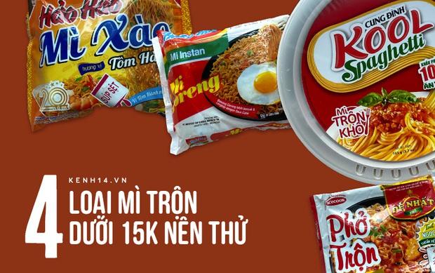 Chỉ 15k là mua được tận 4 loại phở - mì trộn siêu ngon: Hội nghèo kinh niên tham khảo gấp! - Ảnh 1.