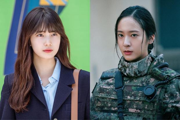 Phim mới của Suzy và Krystal tranh nhau top 1 tại Hàn, nữ trung úy hay gái xinh khởi nghiệp mới là gu của bạn? - Ảnh 1.