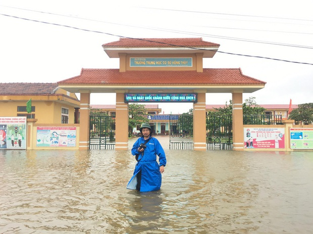 Lũ chồng lũ, 11.000 nhà dân ở Quảng Bình lại ngập chìm trong nước - Ảnh 2.