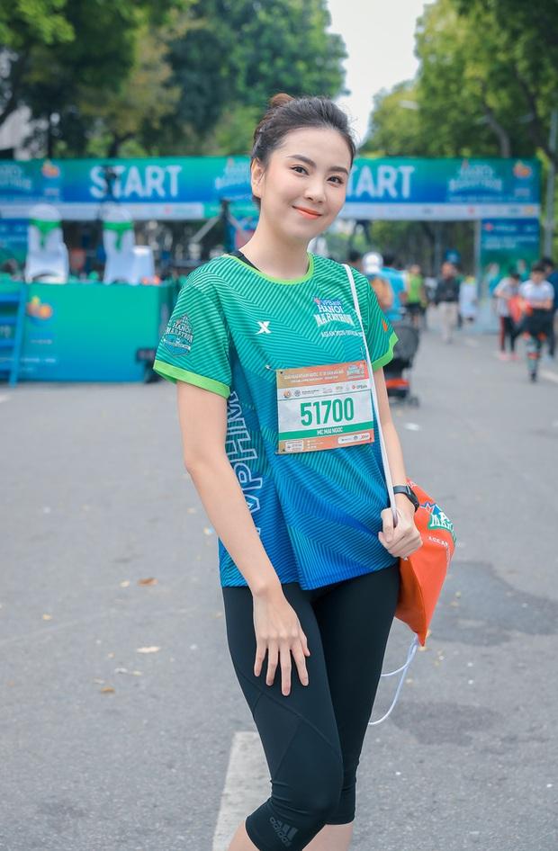 Loạt sao đổ bộ giải Marathon: Mai Phương Thuý chơi trội khoe vòng 1 gần 100 cm giữa dàn hậu và MC Mai Ngọc kín đáo - Ảnh 7.