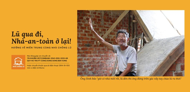Một lần nữa, những căn nhà phao trong dự án Nhà Chống Lũ phát huy tác dụng tại Quảng Bình - Ảnh 3.