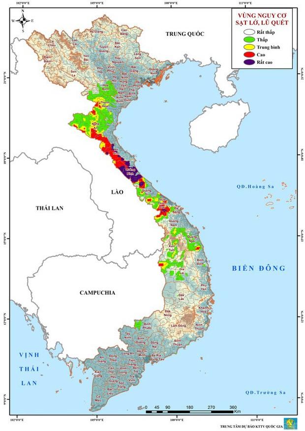 Cảnh báo nguy cơ cao xảy ra lũ đặc biệt lớn trên các sông tại Hà Tĩnh, Quảng Bình - Ảnh 1.