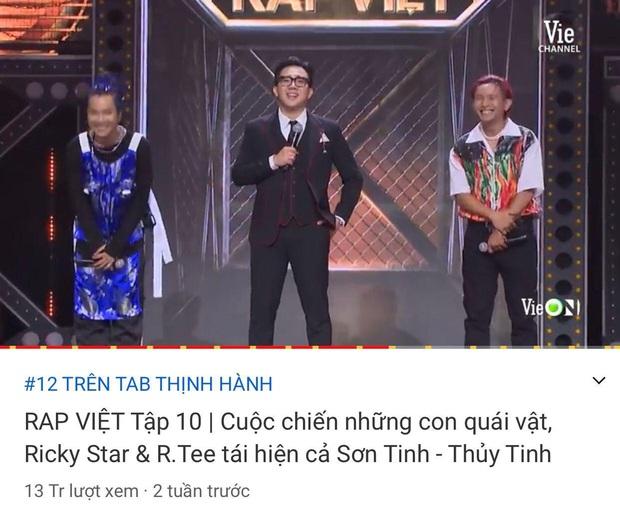 Rap Việt soán ngôi chính mình để giành top 1 trending YouTube trong chưa đầy 1 ngày - Ảnh 4.