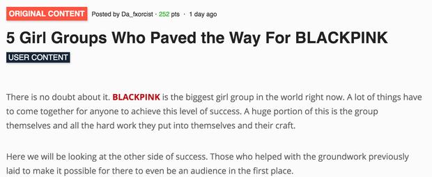 Dân mạng tranh cãi về 5 girlgroup mở đường giúp BLACKPINK: Chỉ công nhận 2NE1, so sánh với BIGBANG dọn mâm cho BTS - Ảnh 1.