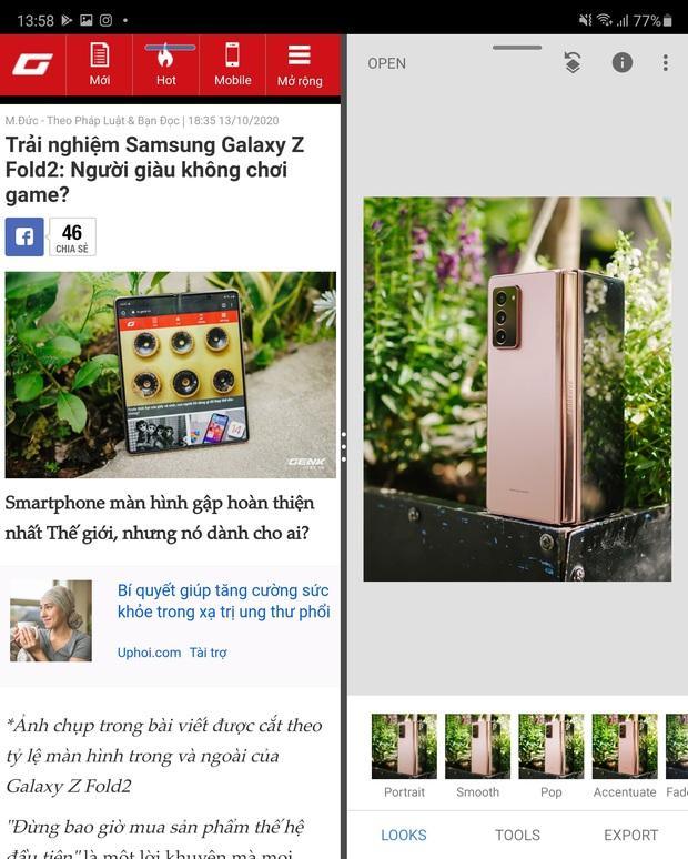 3 lý do tại sao Galaxy Z Fold2 là thiết bị tuyệt vời cho người trẻ mới đi làm - Ảnh 5.