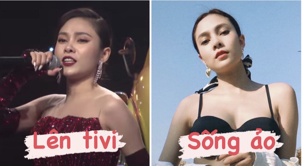 Đọ nhan sắc khi lên TV với ảnh sống ảo của loạt gái xinh đã make some noise thành công ở Rap Việt - Ảnh 1.