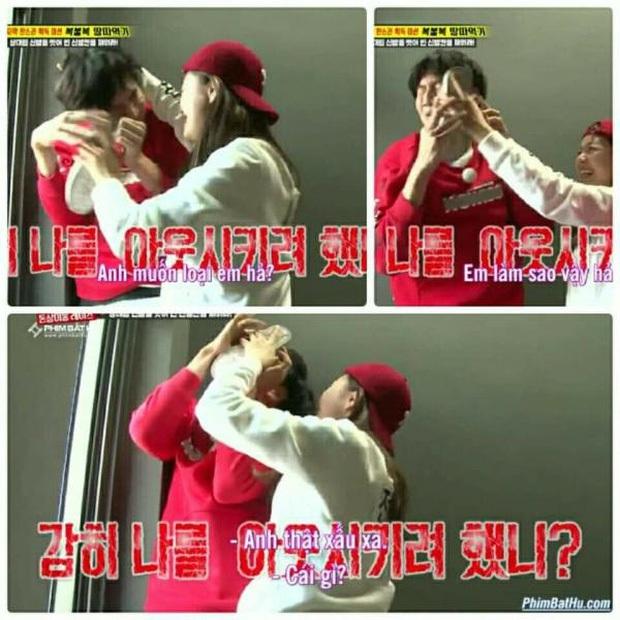 Những lần Jeon So Min chiếm sóng, bạo lực với loạt khách mời: Từ nắm tóc nữ idol kéo lê xềnh xệch đến đạp mạnh BLACKPINK - Ảnh 10.