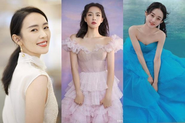 3 mỹ nhân thị phi nhất Kim Ưng 2020: Victoria ké fame loạt mỹ nam, Đồng Dao ngoại tình, bê bối nhất là Triệu Lệ Dĩnh - Ảnh 2.