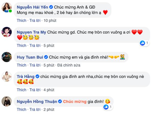 HOT: Bà xã Khắc Việt chính thức hạ sinh đôi trai gái đầu lòng - Ảnh 3.