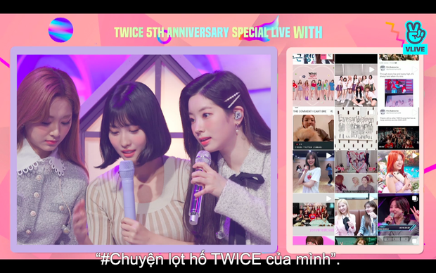 Tròn 5 năm debut, TWICE mở buổi live đặc biệt: Jeongyeon vắng mặt, các thành viên không ngại spoil ca khúc mới khiến fan sướng rơn - Ảnh 14.