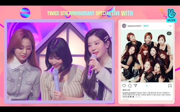 Tròn 5 năm debut, TWICE mở buổi live đặc biệt: Jeongyeon vắng mặt, các thành viên không ngại spoil ca khúc mới khiến fan sướng rơn - Ảnh 15.