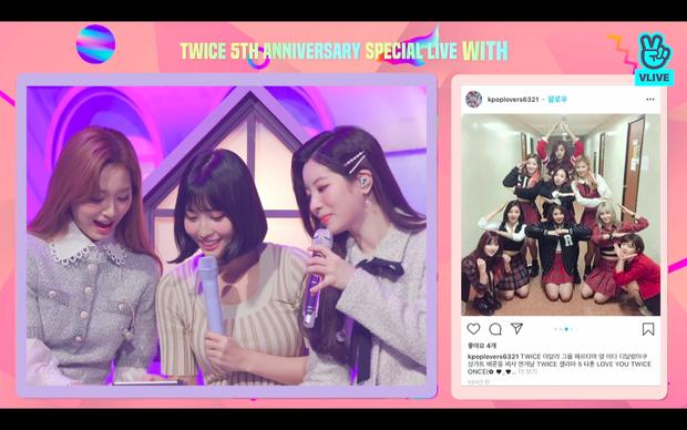 Tròn 5 năm debut, TWICE mở buổi live đặc biệt: Jeongyeon vắng mặt, các thành viên không ngại spoil ca khúc mới khiến fan sướng rơn - Ảnh 16.