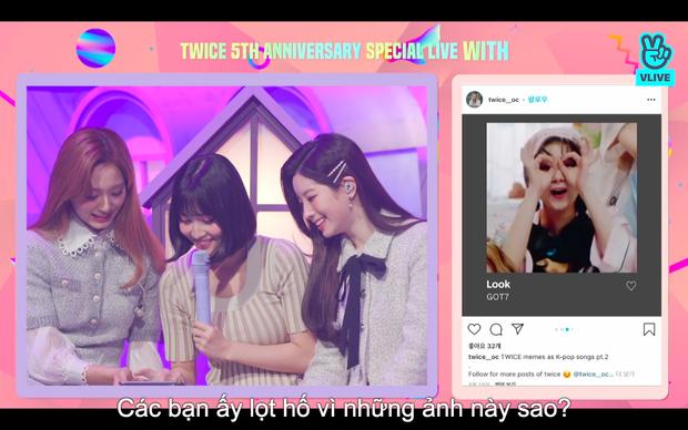 Tròn 5 năm debut, TWICE mở buổi live đặc biệt: Jeongyeon vắng mặt, các thành viên không ngại spoil ca khúc mới khiến fan sướng rơn - Ảnh 21.