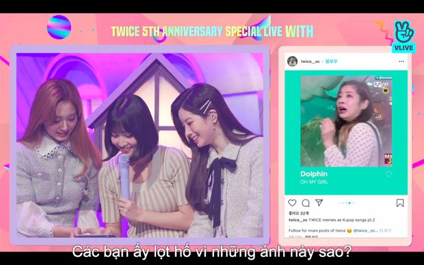 Tròn 5 năm debut, TWICE mở buổi live đặc biệt: Jeongyeon vắng mặt, các thành viên không ngại spoil ca khúc mới khiến fan sướng rơn - Ảnh 22.