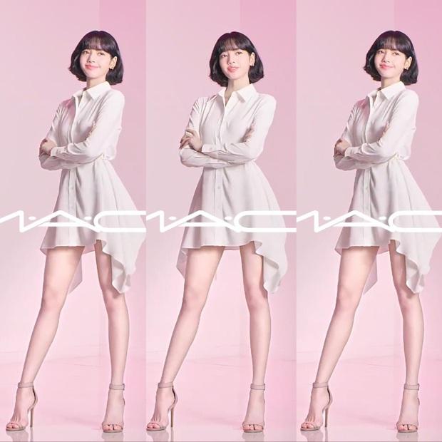 Lisa trở thành đại sứ toàn cầu của mỹ phẩm MAC, là nữ idol Kpop đầu tiên trong lịch sử được chọn - Ảnh 3.