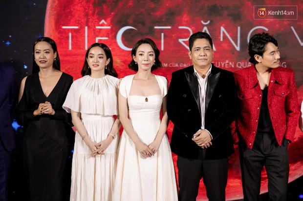 Kaity Nguyễn diện đồ kín bưng, để dàn mỹ nhân showbiz Việt chặt đẹp ở thảm đỏ Tiệc Trăng Máu - Ảnh 1.