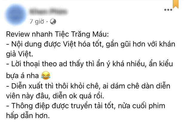 Netizen review nóng Tiệc Trăng Máu: Bom tấn Việt tròn trịa nhất năm, phim hay ăn đứt bản Hàn nha! - Ảnh 10.