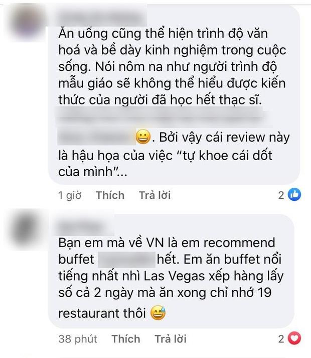 """SỐC: Khách review buffet không ưng ý, nhân viên khách sạn 5 sao ở Sài Gòn mỉa mai """"1tr4 to quá, ăn 140k ở chợ Bến Thành còn hơn đó"""" - Ảnh 4."""