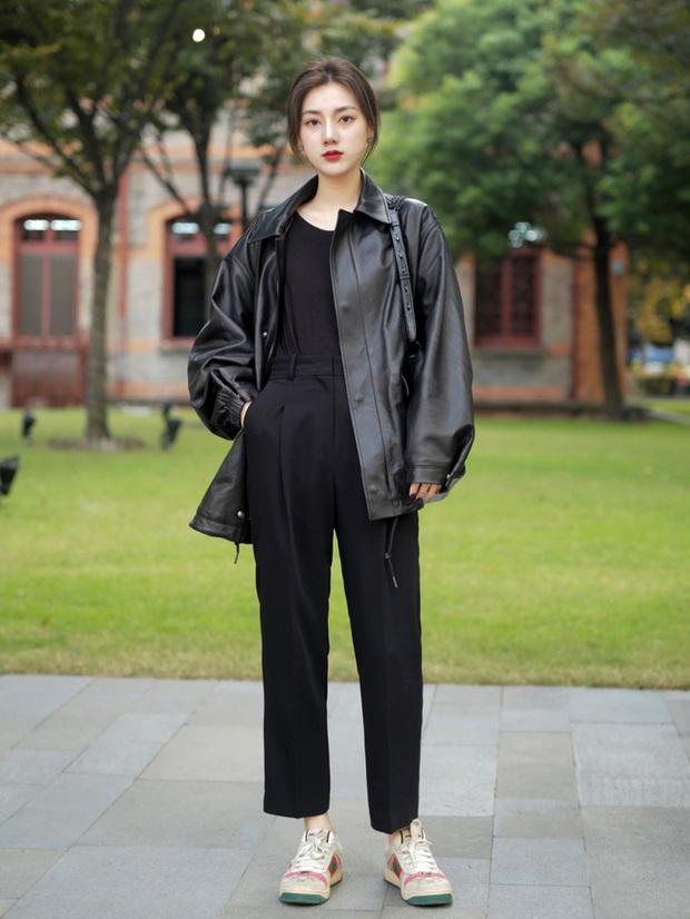 Street style châu Á: Hội chị em lên đồ đẹp hút mắt, toàn blazer và cardigan nhưng nhìn sang hết nấc - Ảnh 12.