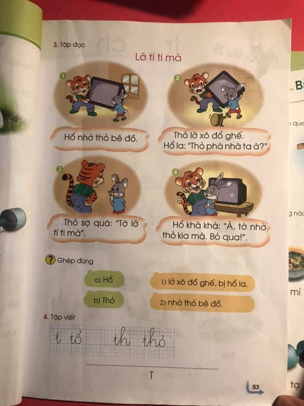 Phụ huynh lại hoang mang với sách Tiếng Việt 1 Cánh Diều: Cùng bộ sách nhưng mỗi cuốn lại in một nội dung khác nhau? - Ảnh 3.