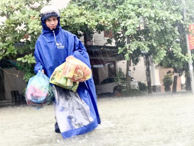 Mưa trắng trời, TP. Hà Tĩnh chìm trong ngập lụt lịch sử chưa từng có - Ảnh 5.