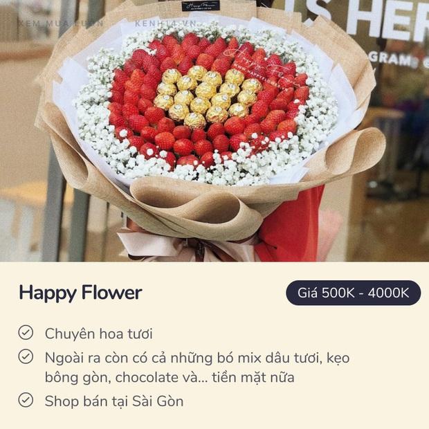 20/10 mua hoa ở đâu: 8 shop hoa siêu đẹp, bó hoa siêu có tâm ở Hà Nội và Sài Gòn chắc nhiều người sẽ cần - Ảnh 25.