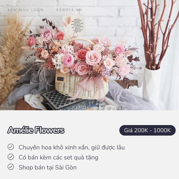 20/10 mua hoa ở đâu: 8 shop hoa siêu đẹp, bó hoa siêu có tâm ở Hà Nội và Sài Gòn chắc nhiều người sẽ cần - Ảnh 21.
