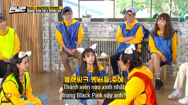Phản ứng giận dỗi của Jennie (BLACKPINK) khi Lee Kwang Soo chọn người xinh nhất BLACKPINK khiến fan thích thú - Ảnh 5.