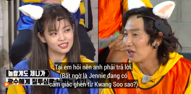 Phản ứng giận dỗi của Jennie (BLACKPINK) khi Lee Kwang Soo chọn người xinh nhất BLACKPINK khiến fan thích thú - Ảnh 7.