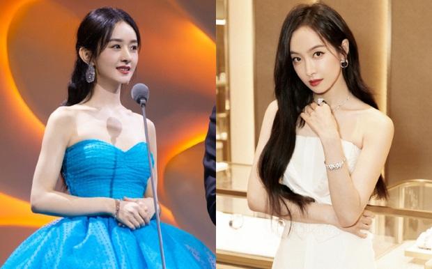 Netizen tranh nhau lý giải biểu cảm bĩu môi khó đỡ của Victoria: Do thói quen hay ghen tức với Triệu Lệ Dĩnh? - Ảnh 7.