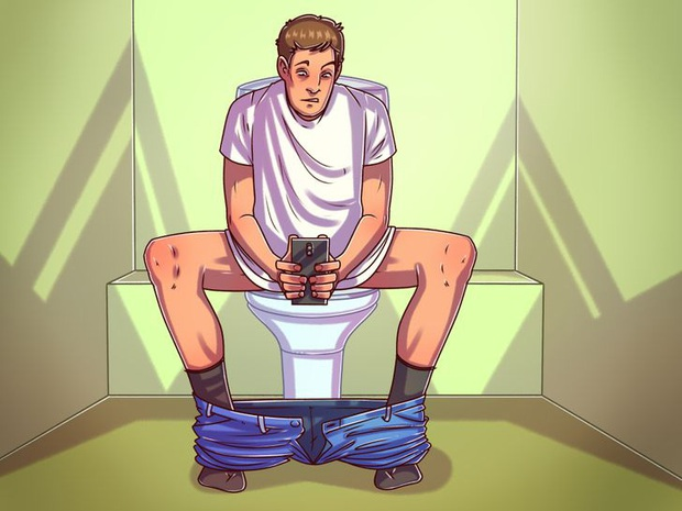 Tại sao chúng ta nên ngừng mang điện thoại vào nhà vệ sinh: có 5 vấn đề sẽ xảy đến nếu bạn cứ duy trì thói quen này - Ảnh 2.