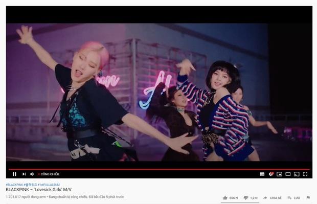 Với 1,7 triệu người xem công chiếu, Lovesick Girls không vượt qua Ice Cream, BLACKPINK vẫn để BTS dẫn trước cách biệt lớn - Ảnh 2.