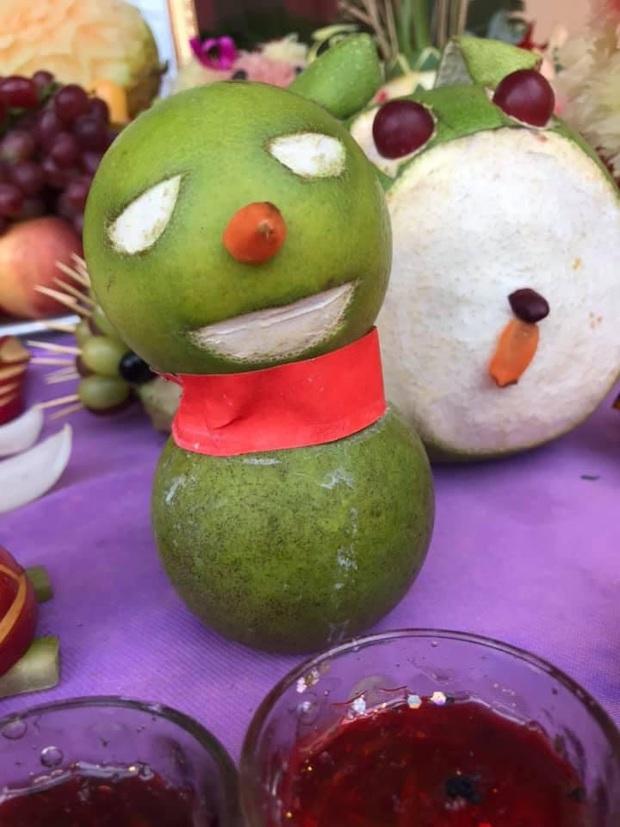 Trung thu vừa qua, Halloween sắp tới: Dân tình bảo nhau giữ lại luôn những tác phẩm hoa quả kinh dị để trang trí - Ảnh 15.