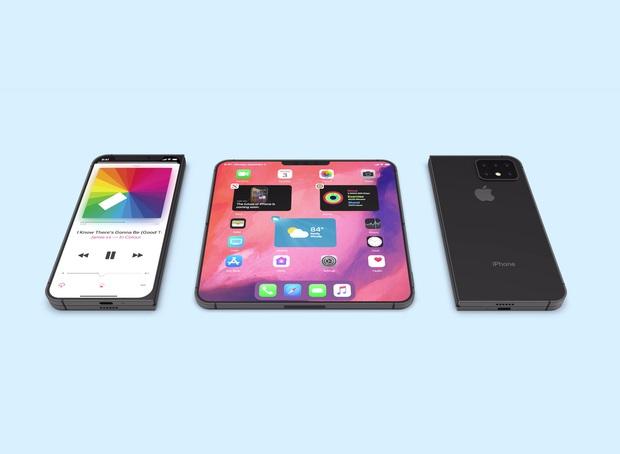 Nếu iPhone có màn hình gập nó sẽ xịn sò ra sao? - Ảnh 1.