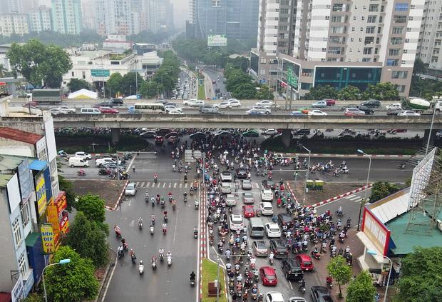 Khởi công xây dựng hầm chui Lê Văn Lương - vành đai 3, tuyến đường huyết mạch thường xuyên ùn tắc giờ tan tầm - Ảnh 8.
