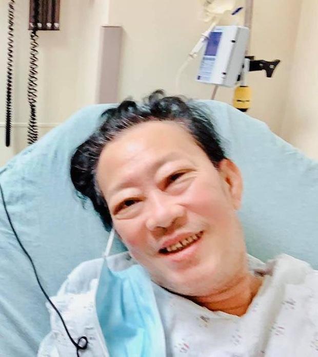 Nhập viện mổ nghẽn mạch máu, nhạc sĩ Lê Quang phải phẫu thuật cắt chân phải do nhiễm trùng - Ảnh 3.
