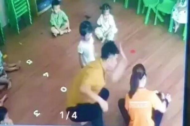 Bộ GD&ĐT yêu cầu xử lý nghiêm phụ huynh bạo hành trẻ mầm non trong lớp ở Lào Cai - Ảnh 1.