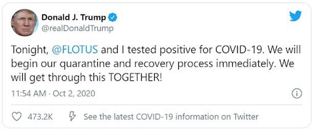 Sự kiện ra mắt iPhone 12 sẽ ra sao khi Tổng thống Donald Trump bị nhiễm Covid-19 - Ảnh 1.