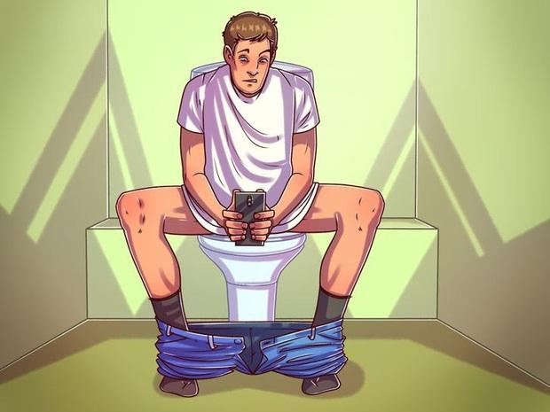 Tại sao chúng ta nên dừng ngay việc sử dụng điện thoại trong nhà vệ sinh - Ảnh 2.