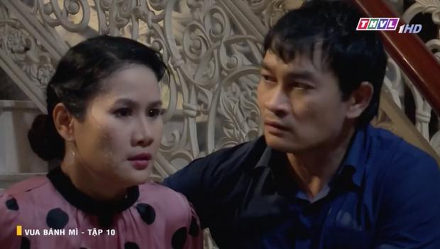 Vua Bánh Mì bản Việt tập 10: Phát hiện con dâu ngoại tình, mẹ chồng bị xô ngã đập đầu, bỏ mặc ngoài mưa suốt đêm - Ảnh 9.