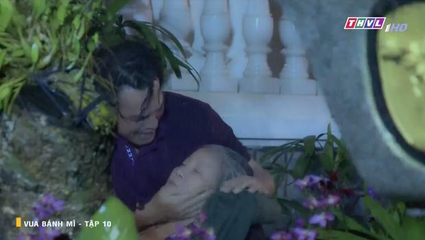 Vua Bánh Mì bản Việt tập 10: Phát hiện con dâu ngoại tình, mẹ chồng bị xô ngã đập đầu, bỏ mặc ngoài mưa suốt đêm - Ảnh 13.