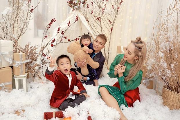 BigDaddy hiếm hoi khoe ảnh gia đình 4 người mừng sinh nhật Emily: Vợ đẹp đã chiếm spotlight, 2 nhóc tỳ còn nổi hơn - Ảnh 5.
