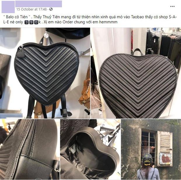 Balo đi cứu trợ miền Trung của Thủy Tiên thành hàng hot, có shop tuyên bố bán được hàng trích luôn lãi làm từ thiện - Ảnh 6.
