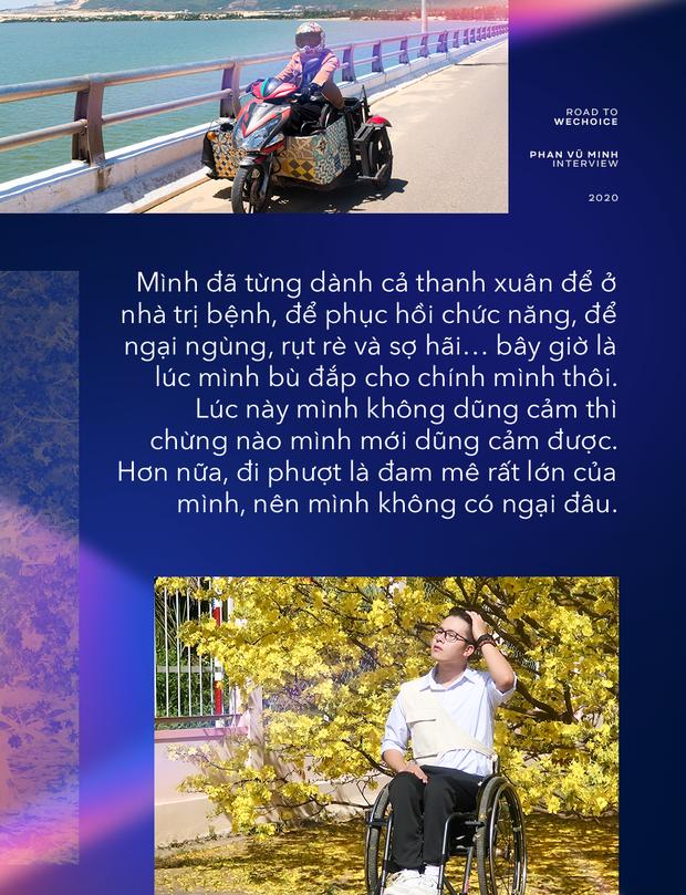 Phượt thủ liệt hai chân đi khắp Việt Nam bằng xe lăn: Không mong người khác trầm trồ, chỉ muốn bù đắp thanh xuân từng đánh mất - Ảnh 7.