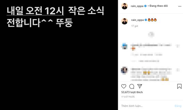 HOT: Bi Rain lên top 1 Naver vì tin đồn có con thứ 3 với Kim Tae Hee, tất cả bắt nguồn từ bài đăng úp mở của chính chủ - Ảnh 2.