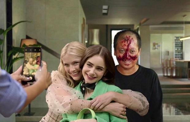 Hết quậy tưng Paris, Emily lại ghé chơi Hàn Quốc trong bộ ảnh cameo Ký Sinh Trùng cực nhắng nhít! - Ảnh 2.