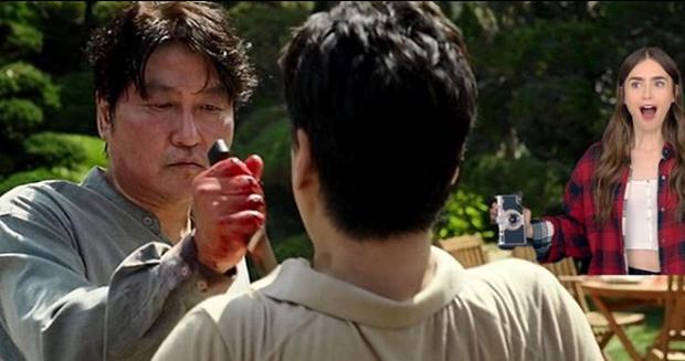 Hết quậy tưng Paris, Emily lại ghé chơi Hàn Quốc trong bộ ảnh cameo Ký Sinh Trùng cực nhắng nhít! - Ảnh 10.