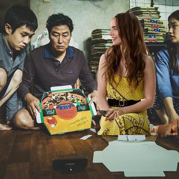 Hết quậy tưng Paris, Emily lại ghé chơi Hàn Quốc trong bộ ảnh cameo Ký Sinh Trùng cực nhắng nhít! - Ảnh 8.