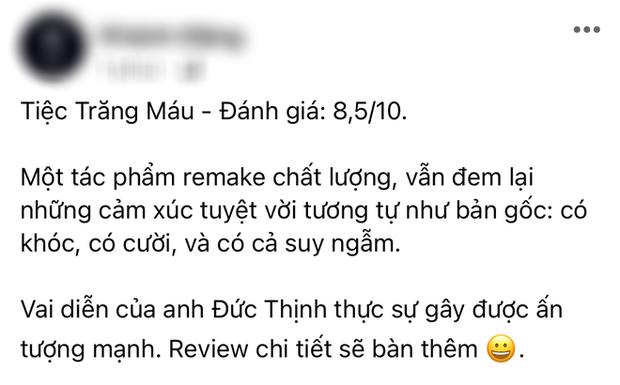 Netizen review nóng Tiệc Trăng Máu: Bom tấn Việt tròn trịa nhất năm, phim hay ăn đứt bản Hàn nha! - Ảnh 6.